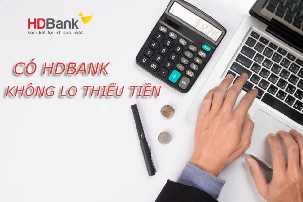 Hướng dẫn vay tiền HDBank mới nhất